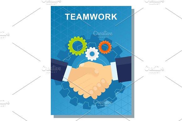 Business Poster Teamwork
