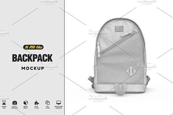 Download Backpack Mock-up