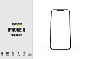 iPhone X Mock-up vol2