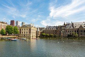 The Dutch building of parliament.