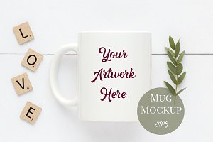 Mug Mockup - Neutral colors