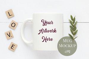 Mug Mockup - Neutral colors