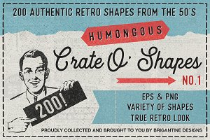 200 Retro Shapes Vol.1