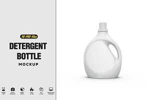 Detergent Bottle Mock-up