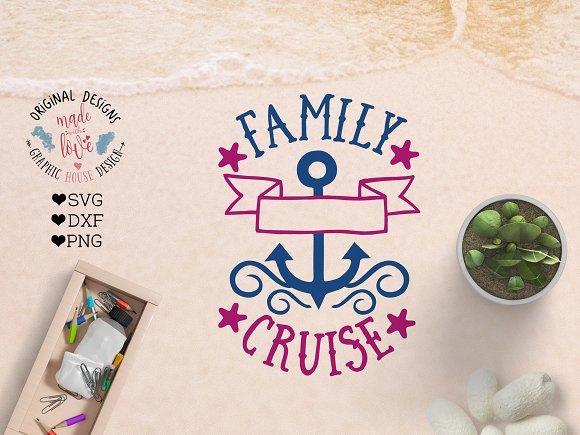 Family Cruise Cut File