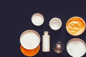 body care. cream, balm, milk, perfum
