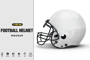 Football Helmet Mock-up