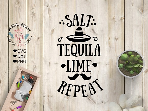 Salt Tequila Lime Repeat