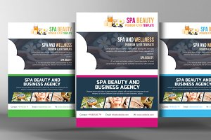 Day Spa And Resort Flyer Template