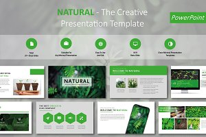 Natural Creative PowerPoint Template