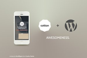 Cotton Wordpress - Bootstrap 3.0