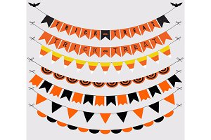 Halloween Classic Bunting Banners