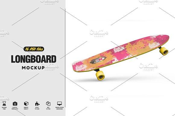 Download Longboard Mockup