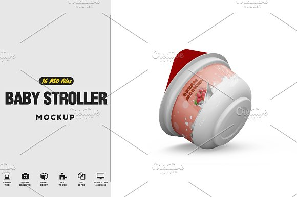 Cream Mockup-Graphicriver中文最全的素材分享平台