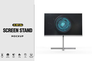 Screen Stand Mockup