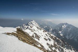 Snowy Mountains Panorama