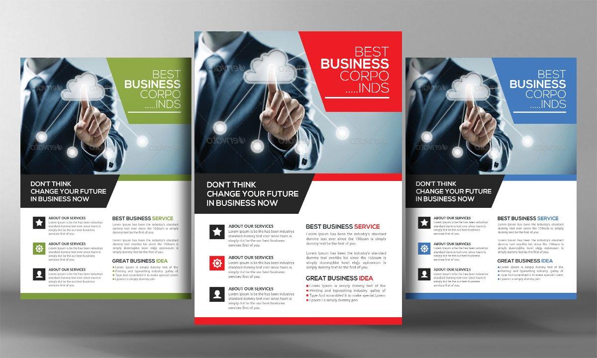 job agency flyer template flyer templates creative market