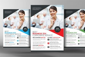 Business Tax Refund Flyer Template