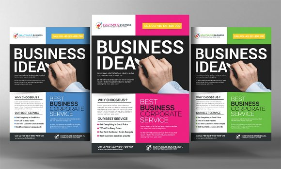 Business Analyst Flyer Template