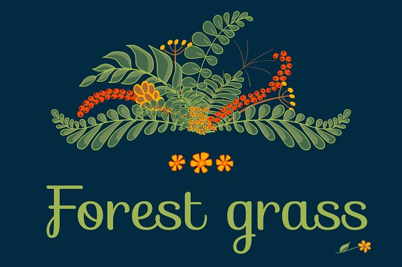 Forest Grass Floral Project