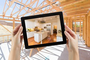 Tablet with Kitchen Photo & Build