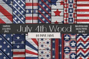 Rustic July 4th backgrounds