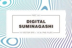 Digital Suminagashi 001