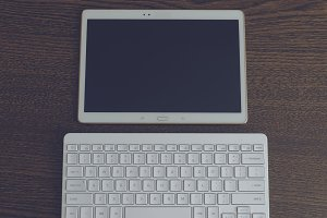 Tablet with keyboard 2
