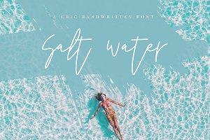 Salt Water - A Chic Handwritten Font