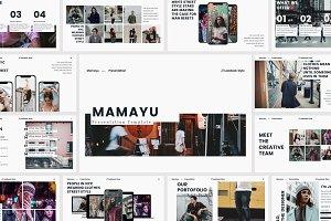 MAMAYU - Google Slides Template