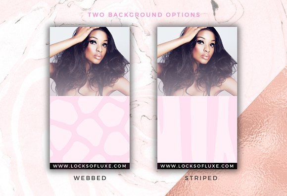 Hair Business Flyer & IG Templates in Flyer Templates - product preview 5
