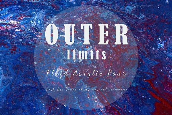 Outer Limits Acrylic Pour Texture