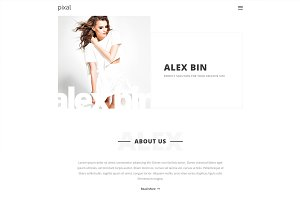 Pixal - Creative Multipurpose HTML