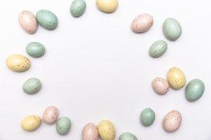 Easter Egg Flatlay