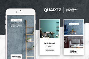 Quartz - Instagram Story Templates