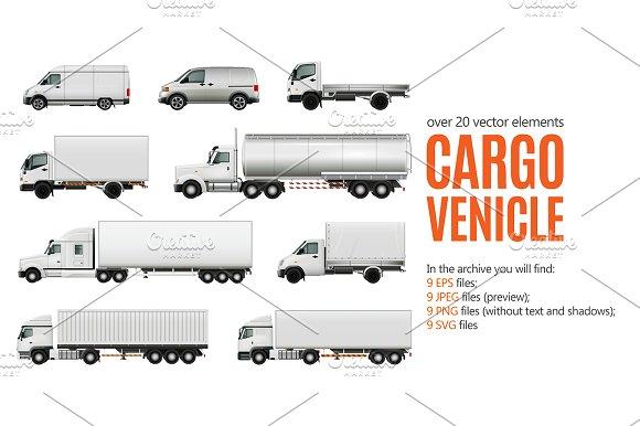 Cargo Vehicle Set