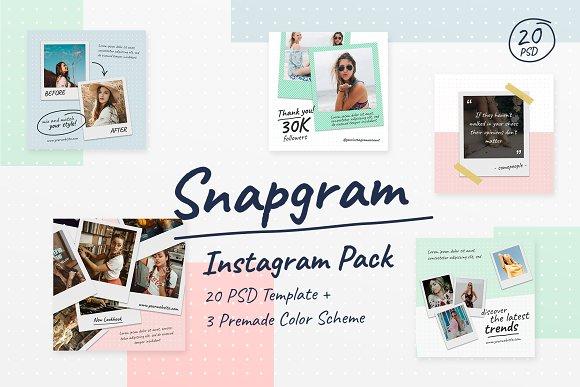 Instagram Pack Snapgram