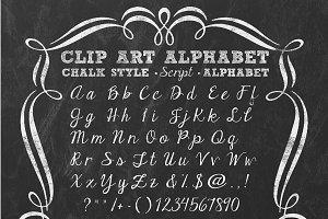 ALPHABET CHALK SCRIPT
