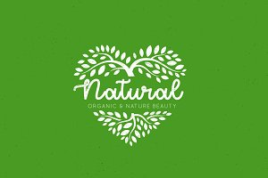 Love Natural Logo