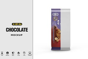 Chocolate Vol.1 Mockup