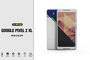 Google Pixel 2 XL vol 3 Mockup