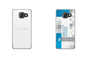 Galaxy A3 2016 2d Flexi Clear Case
