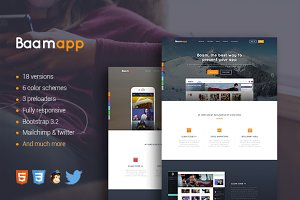Baamapp -Responsive Multi-Purpose