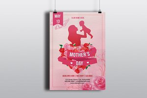 Mother's Day Invitation Flyer - V793