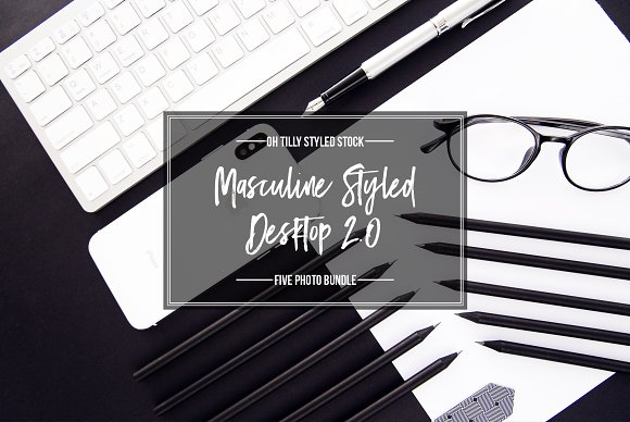 Masculine Desktop Photo Bundle S2