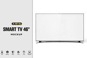 "Smart TV 46"" Mockup"