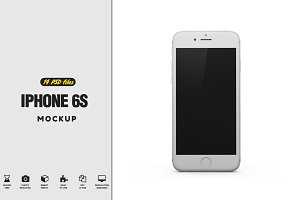 iPhone 6S Mockup