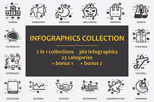 -90% GREAT COLLECTION! Infographics