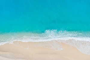 Beautiful water of Zakinthos island