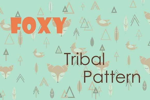 Foxy Tribal Pattern